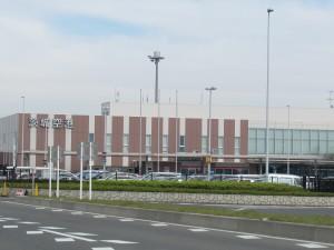 茨城空港外観