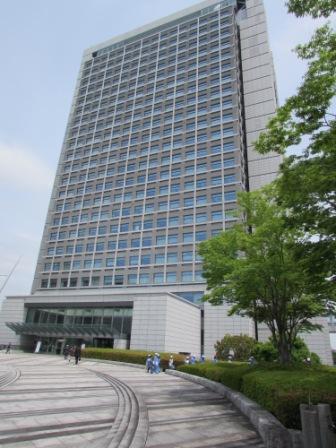 茨城県庁外観