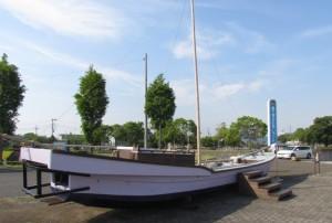 霞ヶ浦ふれあいランドの小型船