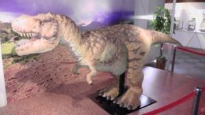 産総研の恐竜ロボット