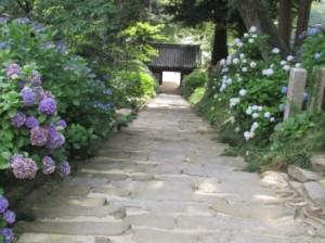 参道石階段