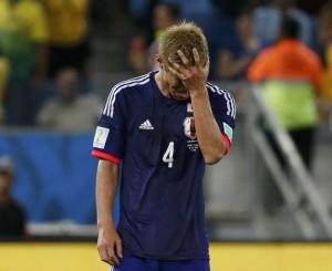 サッカー日本代表本田圭介選手