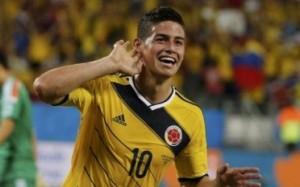 コロンビア代表ハメス・ロドリゲス選手