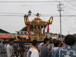 笠間の神輿1