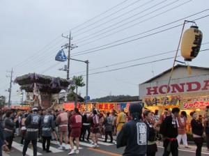 笠間の神輿2