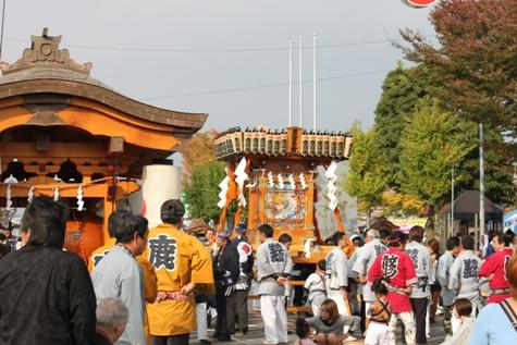結城のお祭