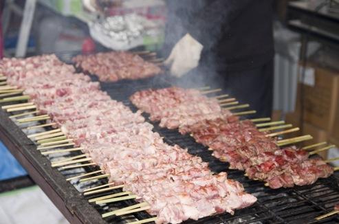 肉,画像,焼き肉,串焼き,おいしいお肉