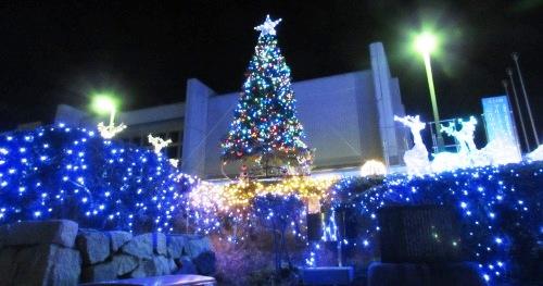 きれいなクリスマスツリー