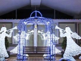 天使からの祝福イルミネーション