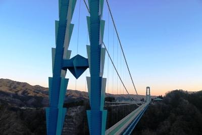 """平成18年に完成した大分県の「九重 """"夢"""" 大吊橋」が完成するまでは日本一の長さを記録していました"""