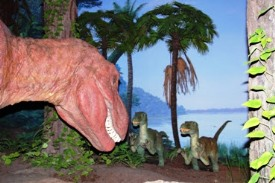 白亜紀における恐竜です