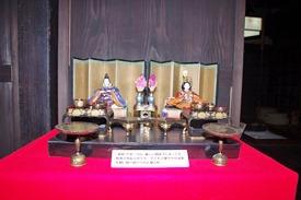 国の重要文化財「坂野家住宅」高貴なひな人形が見れます