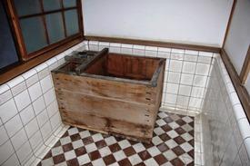 国の重要文化財「坂野家住宅」浴室