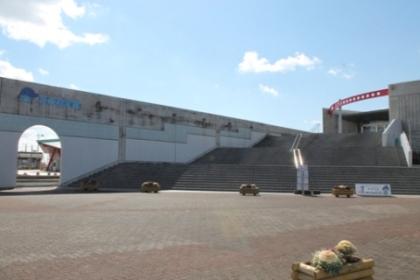 霞ヶ浦ふれあいランド、水の科学館です。