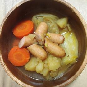 白菜を使ったレシピの白菜の和ポトフ