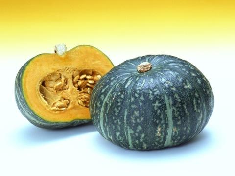 茨城県産のかぼちゃ